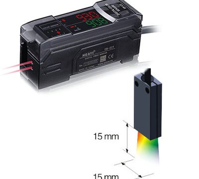 RGB digital fiber optic sensor