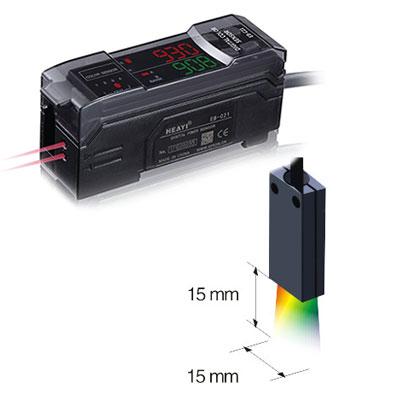 RGB digital fiber optic sensor